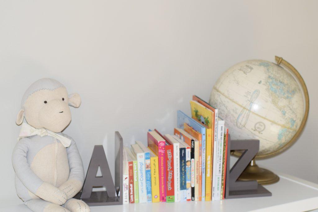 toddler book storage