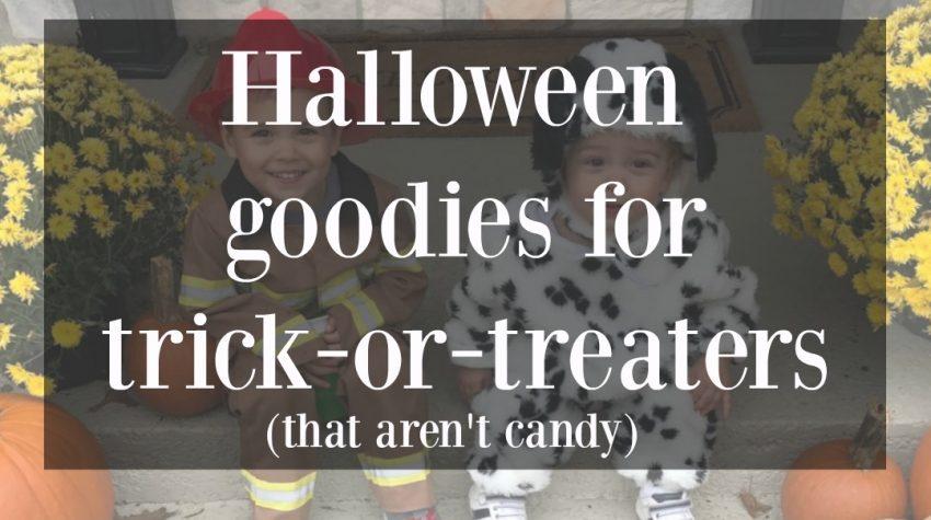 halloween non-candy