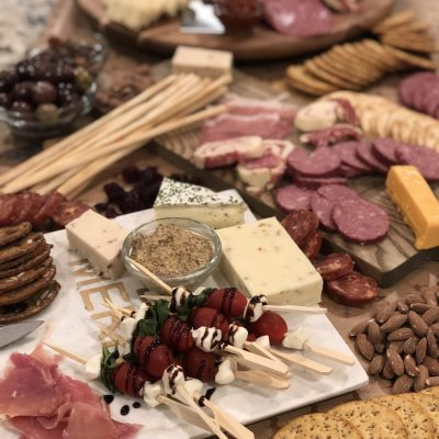 party charcuterie spread