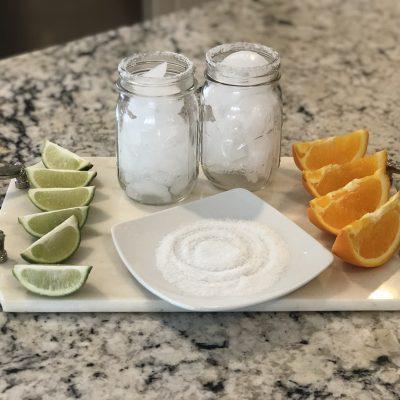 how to make a fresh + skinny margarita