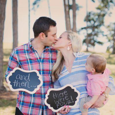 Family Photo Session Ideas + Pregnancy Announcement
