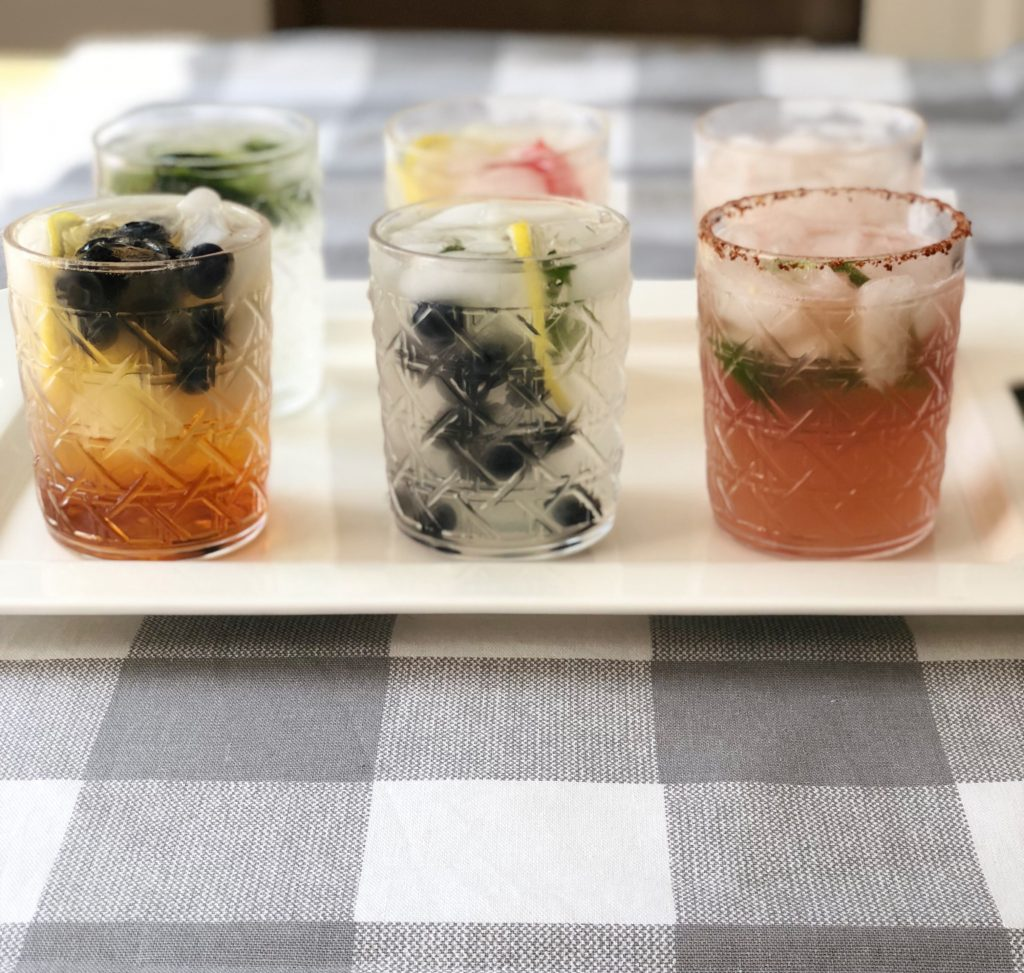 easy + healthy adult drinks | Some of the yummiest adult beverages that will be a hit at every party! | these are simple to make and healthy too!