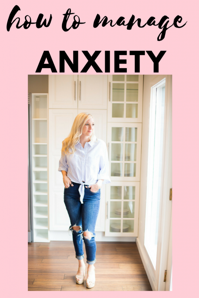 how to live with anxiety + tips to help a panic attack