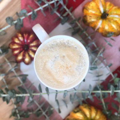 healthy + easy pumpkin spice latte