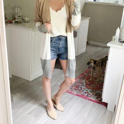 5 ways to wear an Amazon cardigan | $30