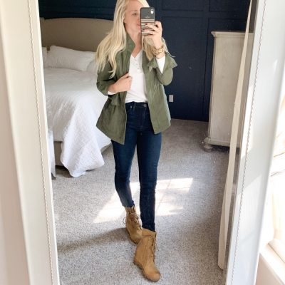 Fall staples and easy outfits