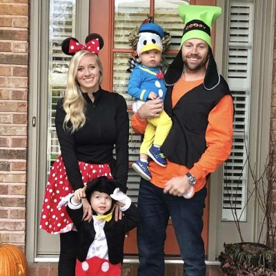 DIY Halloween costumes and families