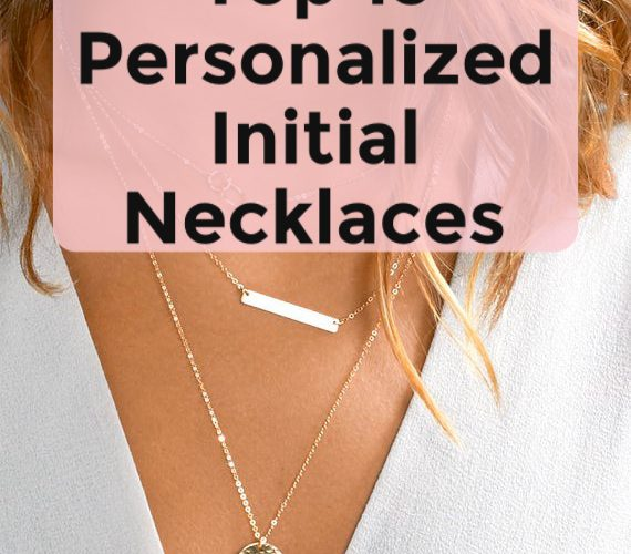 top 15 personalized | initial necklaces