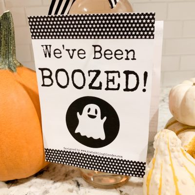You've been BooZed | Halloween game