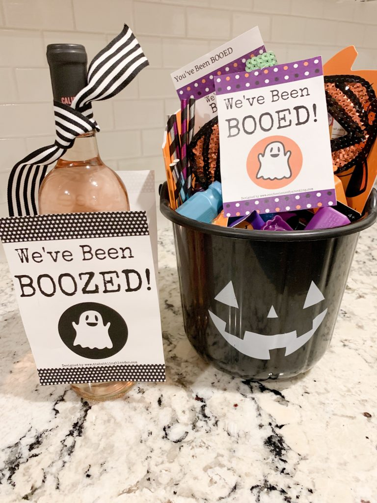 You've Been Boozed Hallowee Printable for Free