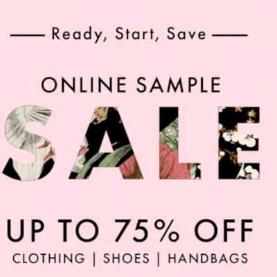 Rebecca Minkoff Sample Sale- 75% off