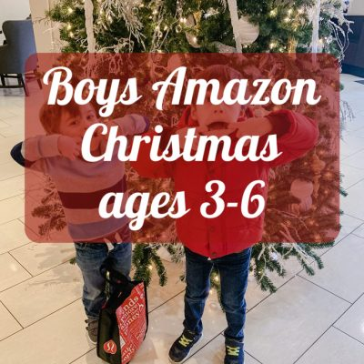 Boys Amazon Christmas (ages 3-6)