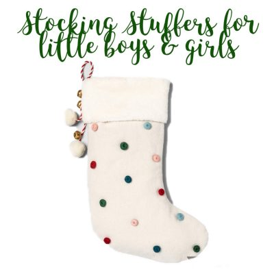 The Best Stocking Stuffers for little boys & girls
