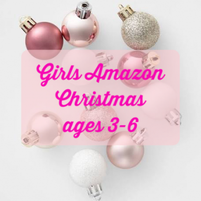 Girls Amazon Christmas (ages 3-6)