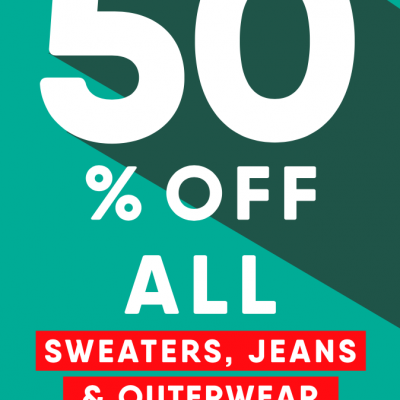 50% Old Navy Sweaters & Outwear