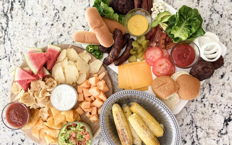 How to host the best bbq + summer charcuterie boards