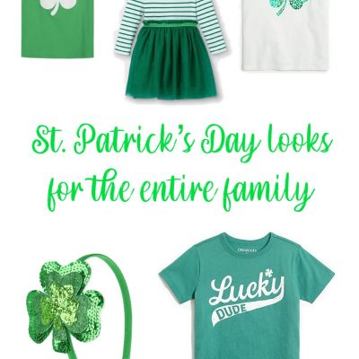 St. Patrick's Day Looks for the Entire Family